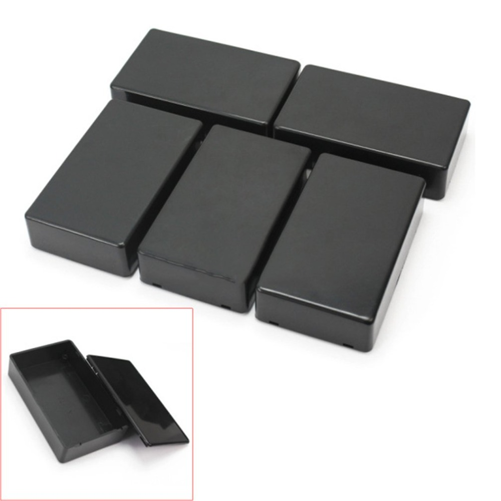 5Pcs DIY Plastic Electronic Project Box Enclosure Instrument 100x60x25mm Electronics Stocks Power Waterproof Box