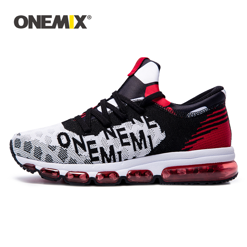 ONEMIX Man Running Shoes for Men Athletic Trainers Black Red High Top Original Sports Shoes Air Cushion Outdoor Sneakers WomenONEMIX Man Running Shoes for Men Athletic Trainers Black Red High Top Original Sports Shoes Air Cushion Outdoor Sneakers Women