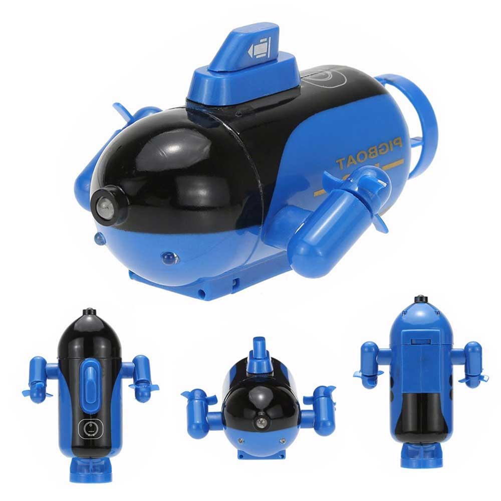 Image 2 - Mini RC Submarine Remote Control Under Boat Submarine Bath Toys Bathtub Pools Lakes Toys Model Electric Kids Toy-in RC Submarine from Toys & Hobbies