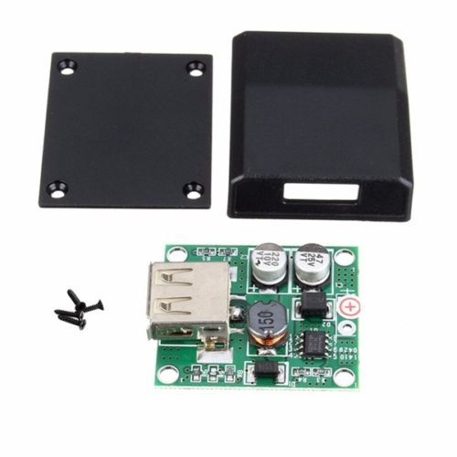 5v 2A Solar Panel Power Bank USB Charge Voltage Controller Regulator 6V-20V input 5Vdc Output for iPhone Samsung HTC mobile work