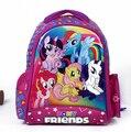 2016 Nuevos niños de dibujos animados mi pequeño pony mochila girls precioso Mochila Mochila Para Niños Bolsas de Regalo de Navidad