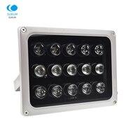 AC 220V CCTV LEDS 15 IR LEDS Array IR illuminator infrared lamp 850nm Waterproof Night Vision CCTV Fill Light for CCTV camera