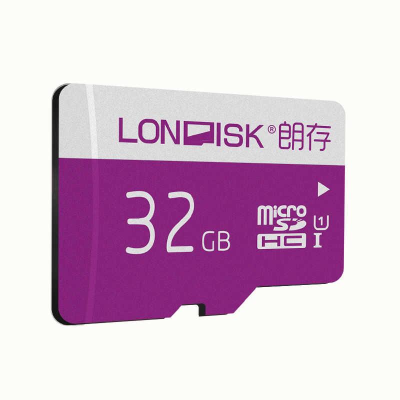 Londisk Micro SD 32GB 16GB Thẻ Nhớ 64GB 128GB Class10 UHS-I MicroSD 256GB U1 thẻ TF Cho Điện Thoại Thông Minh Miếng Lót Camera