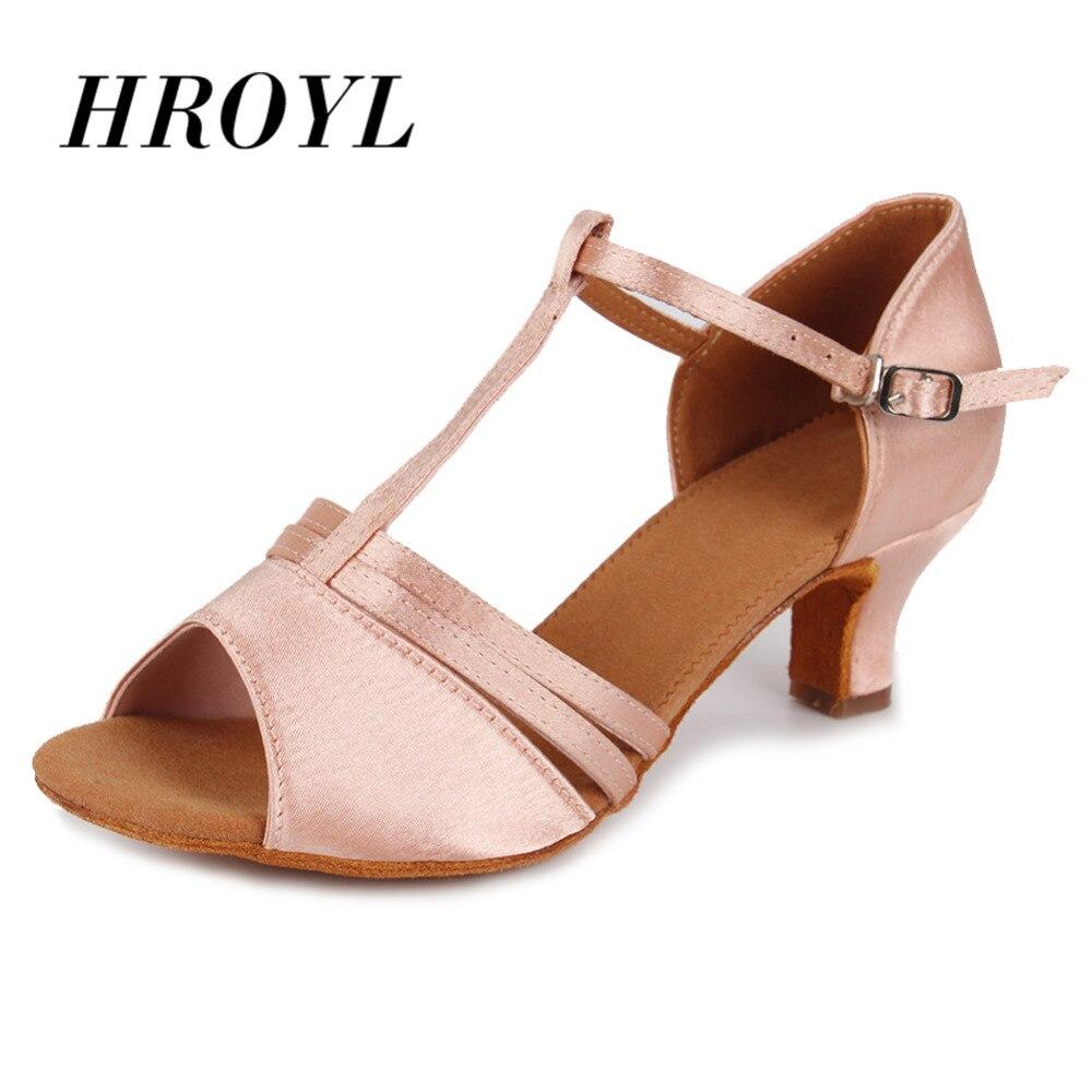 Venta caliente al por mayor y al por menor zapatos de baile latino para niñas baile de salón tango salsa zapatos para mujeres zapatos de baile 7 cm/5 cm