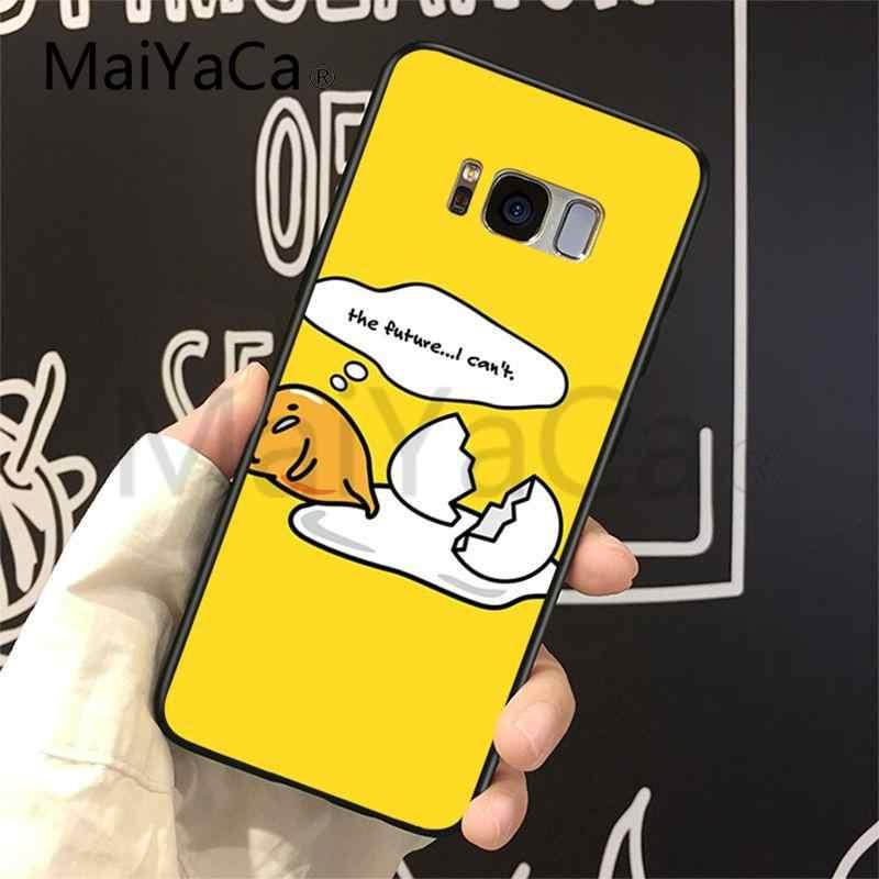 MaiYaCa מקרה עבור גלקסי S9 חמוד יפה gudetama עצלן ביצה מושלם רך מקרה טלפון עבור Samsung Galaxy S6 קצה בתוספת s7 קצה בתוספת