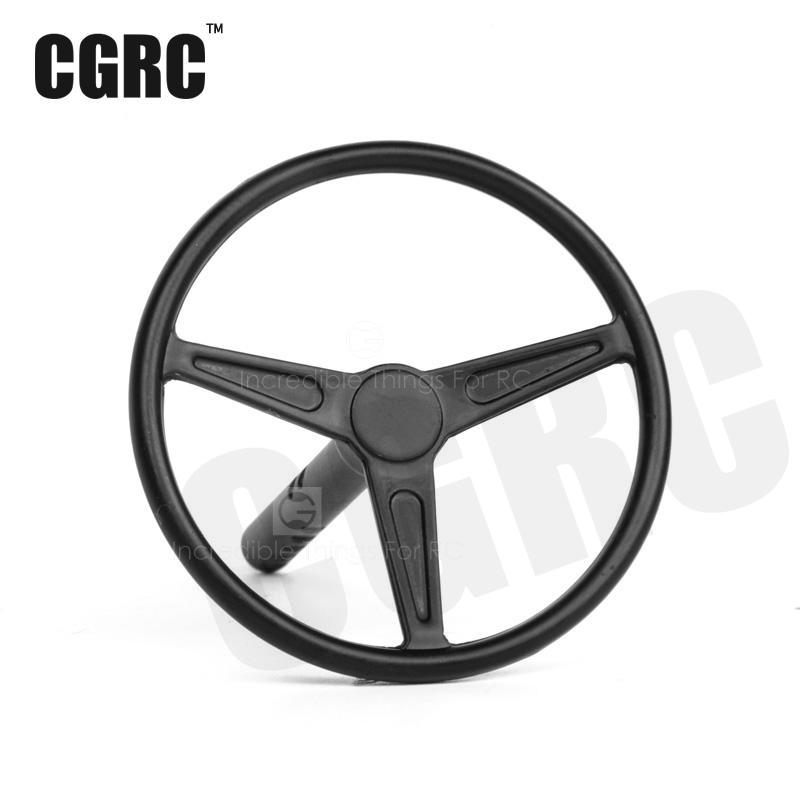 1/10 Simulation Metal Steering Wheel For Rc Crawler Car Drift Car  Off-road Car dongxin mercedes benz sl65 speed remote control steering wheel 1 18 car drift charge black