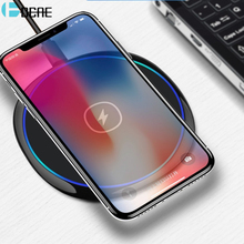DCAE 10W Qi Wireless Charger For iPhone X 8 Plus XS Max XR 10W Fast Wireless