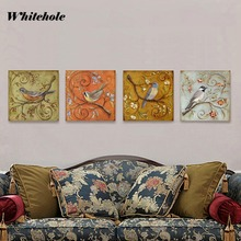 Wall Art Canvas Painting Posters and Prints,Animal Bird Pictures For Living Room Decor Home