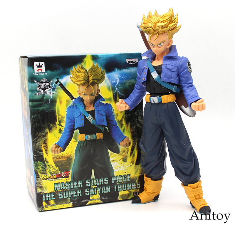 Dragon Ball Z Master Stars Piese The Super Saiyan Trunks MSP PVC Figure Collectible Model Toy 26cm ...