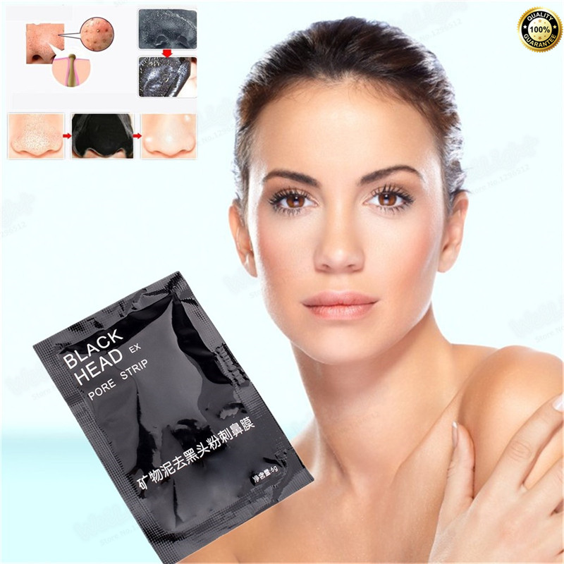 Face Mask FOR Shrink pores, Deep Cleansing Black Head Purifying Tearing Style Peeling Bl ...