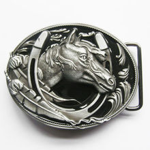 wholesale 3D Horse Belt Buckle Low price custom 3d belt buckles hot sales metal buckle