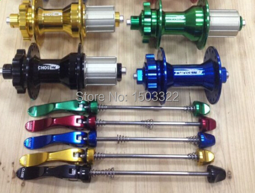 MTB CHOSEN mtb drum A4581B/A4587B Lin Qiaoshen bearing ring/four 32 hole 32h flower drum mountain bike super light hubs chosen aluminum mountain bike hubs set wheel hub front and rear skewers quick releas disc brake hub 4 bearings 90 ring 32 hole
