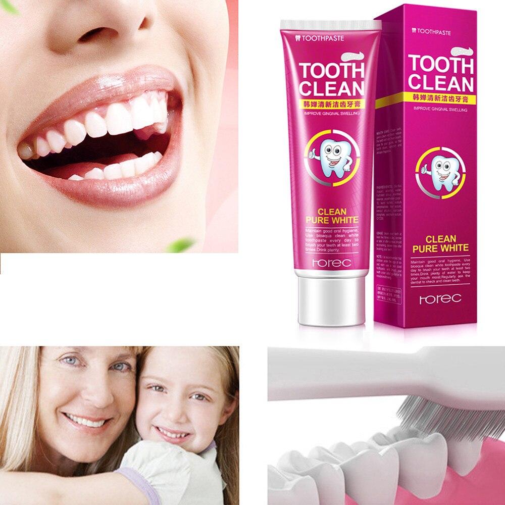 Klar Schützen Zahnfleisch Zahnpasta Zähne Frische Cranberry Mint Zahnpasta Zähne Bleaching Reinigung Hygiene Mundpflege Attraktives Aussehen