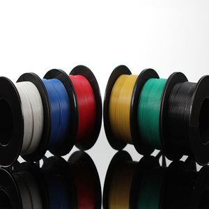 Image 4 - 197ft Electrical Wire UL3132 22AWG Stranded Hook up Wire Tinned Copper 300V Soft Silicone Insulator 6 Colors for DIY Toys Lamp