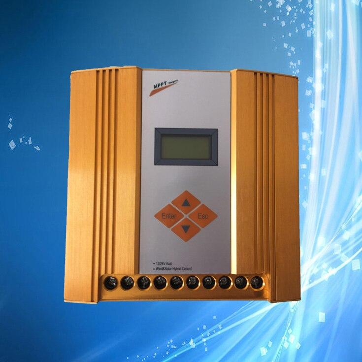 Max 900W MPPT Wind Solar Hybrid Controller Max 600W Wind Max 300W Solar 12V 24V Automatically