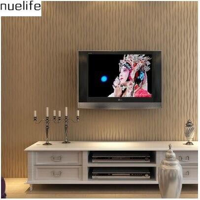ФОТО modern minimalist fashion fringe living room bedroom covered with non-woven flocking wallpaper wallpaper light hot Kim