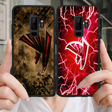 Yinuoda Atlanta Falcons NFL Phone Case For Samsung Galaxy S10 S9 S8 Plus S6 S7 Edge DIY Matt Ryan Soft TPU Lite