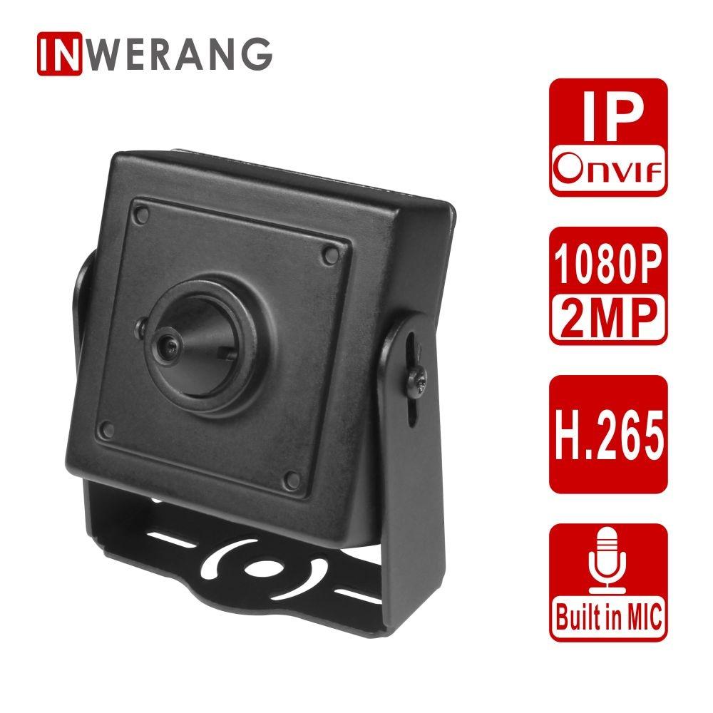 Inwerang Starlight Sensing 2MP CCTV Security mini IP Camera, H.265 1080P Full HD, Mini 3.7mm Lens, Audio in with Built-in Mic cunningham david d in vivo glucose sensing