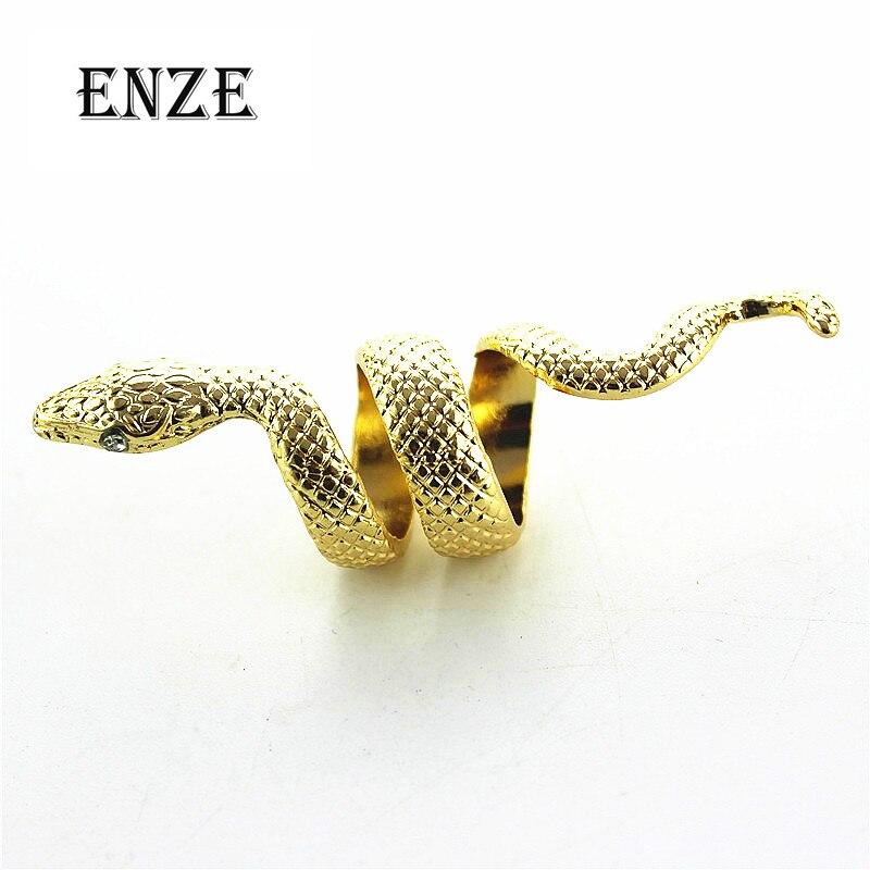 Enze Mode 2015 Freies Verschiffen Die Neue Persönlichkeit Exquisite Schlange Ring