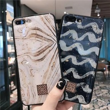 Luxury Gold Foil Marble Bling TPU Soft Case For iPhone 11 XR XMAX X Epoxy Glitter Protective Cover For iPhone 7 8 6 6s Plus Case цена и фото