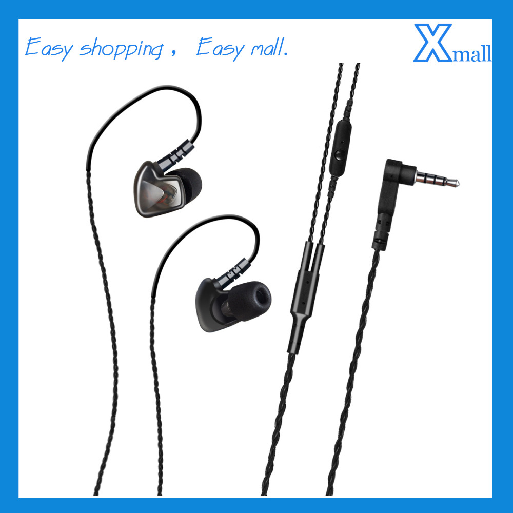 Universal 3.5mm Sports Ear Hook Headset with Mic HIFI Earphones