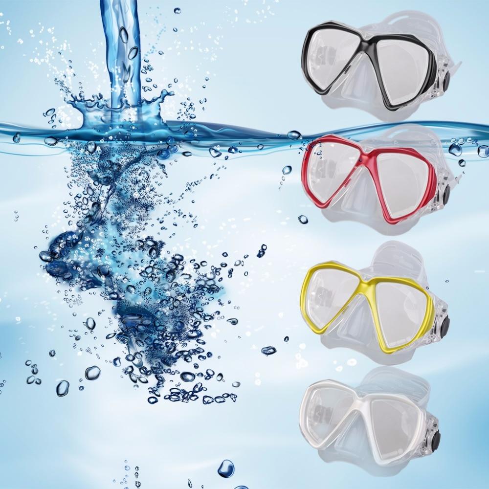 HW2016 Hot Swimming Mask Diving Equipment Anti Fog Goggles Scuba Mask Snorkel Glasses  New Arrival hwunderwater camera plain diving mask scuba snorkel swimming goggles for gopro new brand