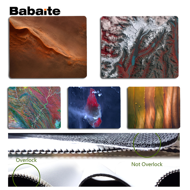 Babaite Personalized Cool Fashion Overlook Laptop Gaming Mice Mousepad Size for 180x220x2mm and 250x290x2mm Small Mousepad