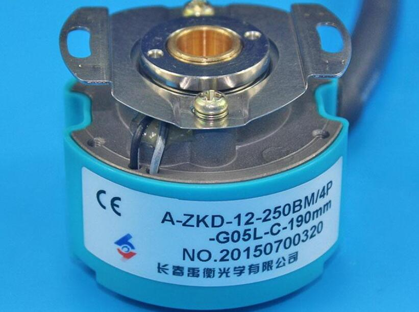 Changchun Yu Heng Servo Motor Encoder A-ZKD-12-250BM / 4P-G05L-C Optical Rotary Encoder flow of institutional credit to agriculture