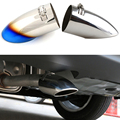 End Throat Car Styling Exhaust Tail Pipes For Nissan Sentra Sylphy 2014 2015 Stainless Steel Refit Rear Muffler Decoration