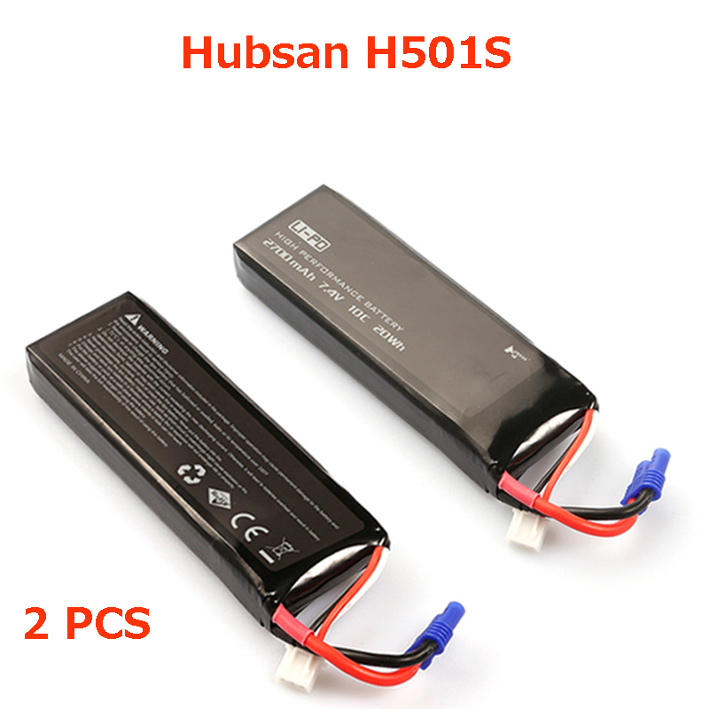 (In magazzino) 100% originale Hubsan H501S batteria/H501C/H501A Hubsan Batteria pezzi di ricambio per Hubsan H501S/H501C quadcopter