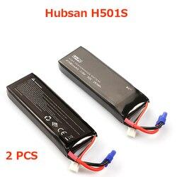 (In stock) 100% Original Hubsan H501S แบตเตอรี่ Hubsan อะไหล่สำหรับ Hubsan H501S H501A H501M H501C RC quadcopter