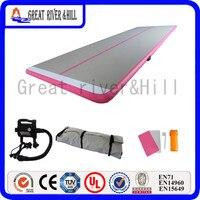 Великие реки Hill фитнес коврик надувной воздушный трек нескользящие розовый 23ft