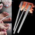 3pcs/set Pro Toe Cuticle Knife Feet Pedicure Callus Rasp File&Shaver Foot Hard Dead Skin Corn Remover Nail Foot Care Tool Kit