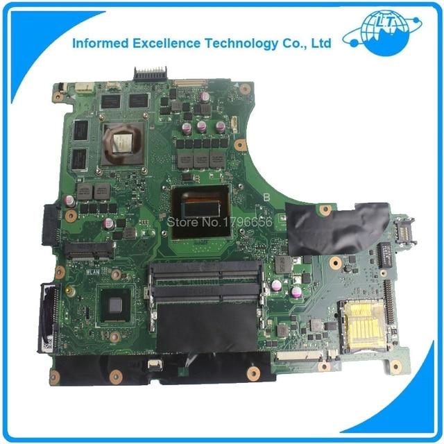 Laptop Motherboard For ASUS N56J N56JR G56J G56JR REV20 Mainboard With I7 CPU 8