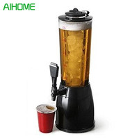 2.5L Ice Core Beer Dispenser Beverage Machine Ice Tube for Water Soft Drinks Juice Soda Water