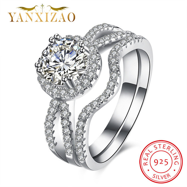 YANXIZAO Adjustable Kpop Fashion Vintage Wedding Anillos Lord Rings