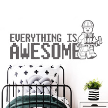 Creative sentence Wall Stickers Vinyl Waterproof Home Decoration Accessories For Kids Rooms Decor