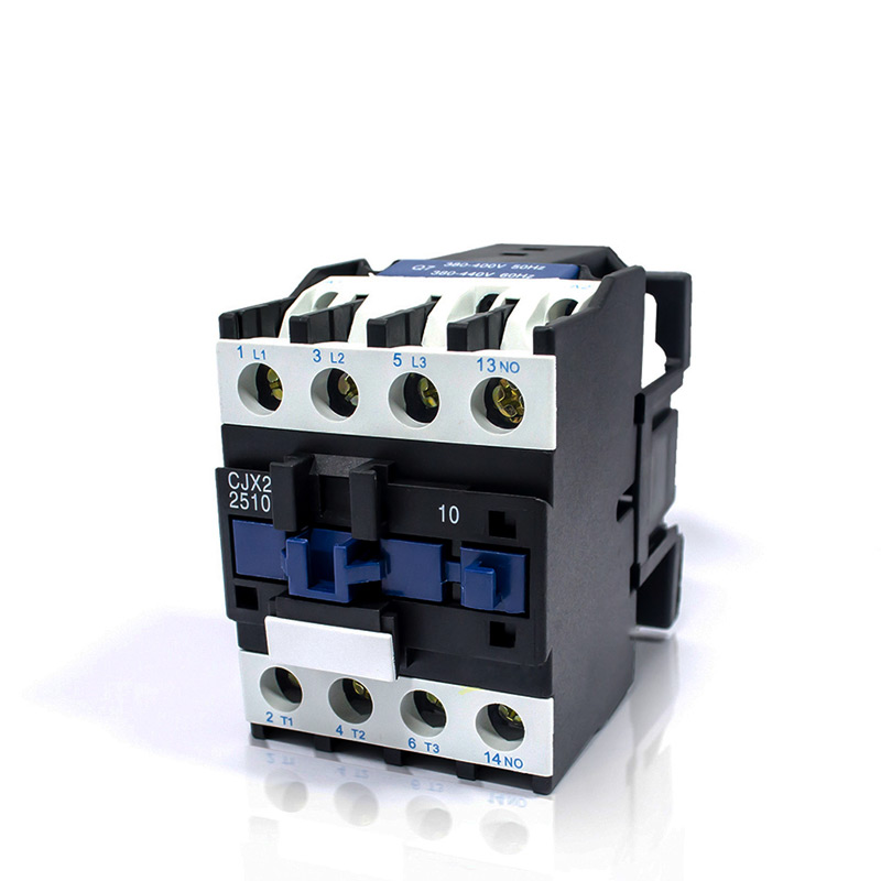 AC 220V contactor CJX2-2510 CJX2-3210 24VAC 1 phase 25A 32A contact 380VAC 3 phase sayoon dc 12v contactor czwt150a contactor with switching phase small volume large load capacity long service life