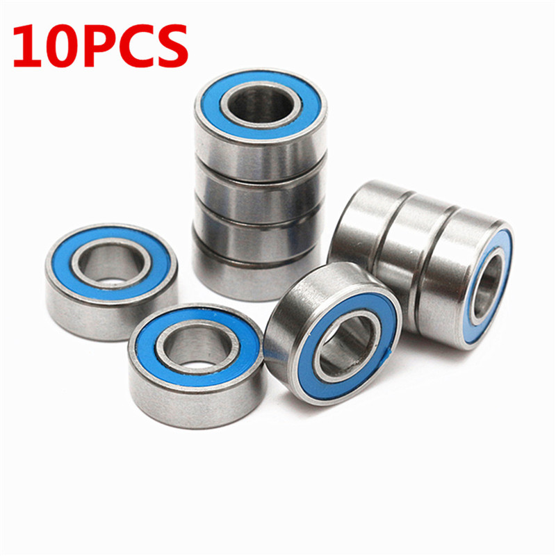 ball bearings car. 5*11*4 mm 10 pieces of mr115 2rs ball bearings for rc car traxxas slash rustler stampede wheel deep groove bearings-in parts \u0026 accessories from