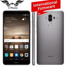 Международная прошивка Huawei Коврики 9 мобильный телефон 4 г LTE Octa core 4 ГБ Оперативная память 64 ГБ Встроенная память 5.9″ Android 7.0 отпечатков пальцев ID двойной Камера