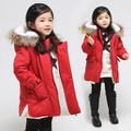 V-TREE Новая мода дети мальчиков и девочек одежда утолщаются дети верхняя одежда хлопок девушки зимнее пальто детская одежда повседневная куртка
