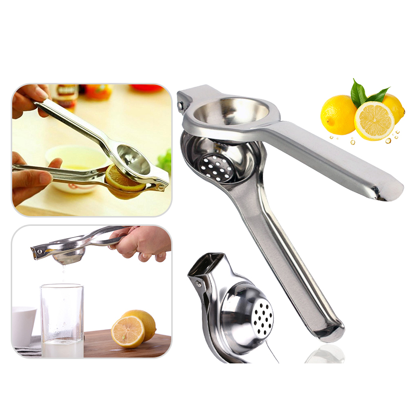 Lemon Lime Squeezer Stainless Steel Fruit Juicer Press Hand Manual Kitchen Tool
