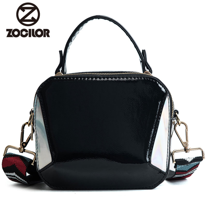 Fashion new 2018 PU Leather Women handbag Small Women Messenger Bag Single Strap Shoulder Bag women Crossbody Bags