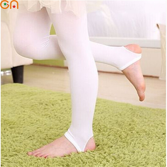 dc6fa5d6adb4c Aliexpress.com : Buy Spring,summer New Girl A thin section Casual The velvet  Leggings,Children,Baby step foot Pants,Student Solid color Dance Pants from  ...