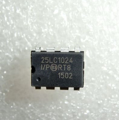 1pcs/lot 25LC1024-I/P 25LC1024 I/P DIP-8 In Stock