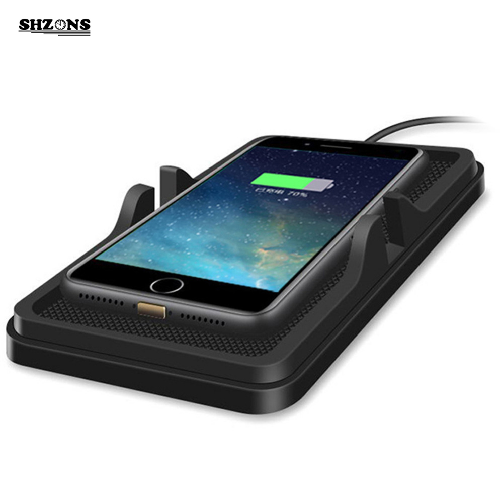 QI Wireless Car Charger For All QI Standard Phones Travel