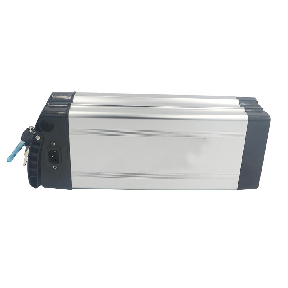 18650 lithium Rechargeable Batterie boîtier En Plastique pour 36 v ou 48 v grande capacité 18650 titulaire E-vélo batterie boîte en aluminium