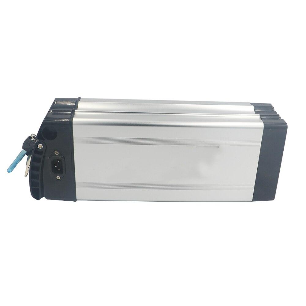 Boîtier en plastique de batterie Rechargeable au lithium 18650 pour 36 V ou 48 V boîtier en aluminium de batterie e-bike de grande capacité 18650