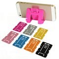 Universal 5pcs Random Color Card Mobile Smart Phone Stand Holder Support Foldable for iphone 5S 6 6S 7 for Samsung S6 S7 Tablets