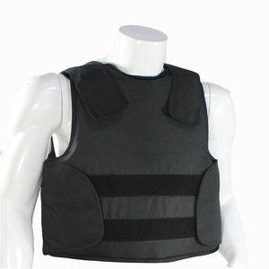 Image 2 - FREE Shipping Kevlar Bulletproof Vest Police Body Armor Size L Black Color with bag